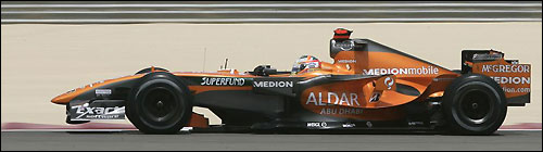 Etihad Aldar Spyker F1