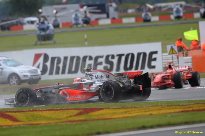 Гонки.МЕ — Ф1  2008 Гран при Великобритании