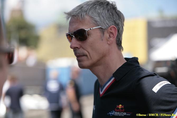 Энтони Бэрроус, тест-менеджер Red Bull Racing