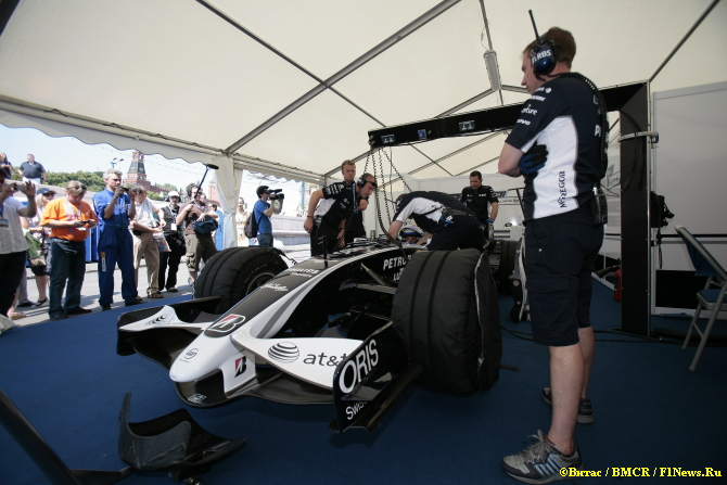 Williams на Moscow City Racing
