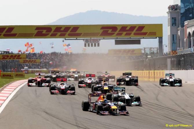 Старт Гран При Турции 2011