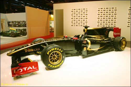 Новая раскраска Lotus Renault