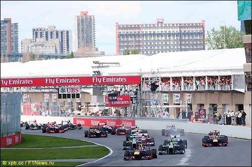 Гран При Канады: Феттель - Алонсо - Хэмилтон